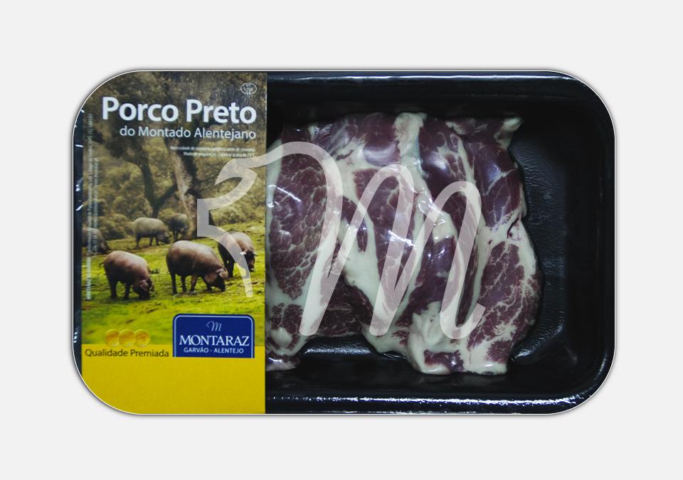 Tranches do Cachaço de Porco Preto