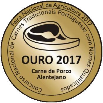 Ouro 2017 Carne de Porco Alentejano