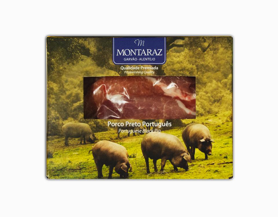 (congelado) Lagartos de Porco Preto